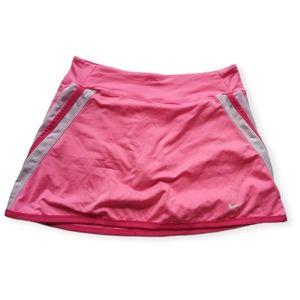Nike pink skort xl